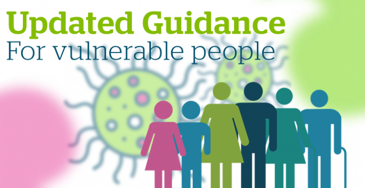 Updated guidance for people who are clinically extremely vulnerable from COVID-19