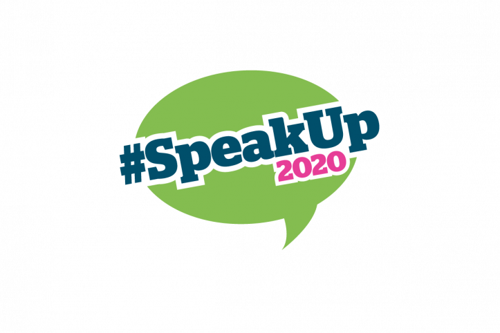 #SpeakUp2020 logo