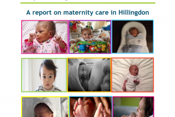 Expecting the Perfect Start - A report on maternity care in Hillingdon Front Cover