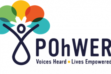 POhWER logo. Voices heard, lives empowered
