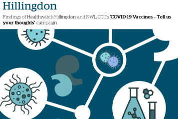 Findings of Healthwatch Hillingdon and NWL CCG's 'COVID-19 Vaccines – Tell us your thoughts' campaign