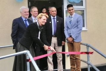 Officials opening Yiewsley Dental Centre