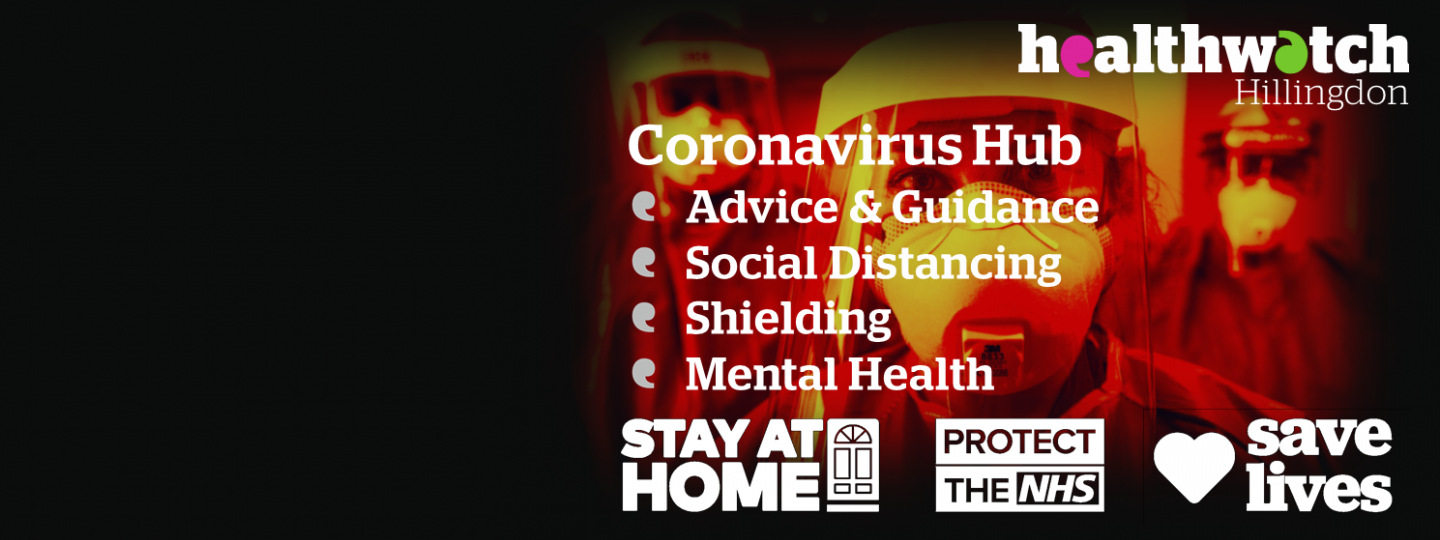 Public Health England & NHS Coronavirus Protect yourself and others Door Handle image