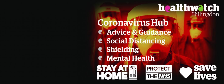 Public Health England & NHS Coronavirus Protect yourself and others Door Handle image