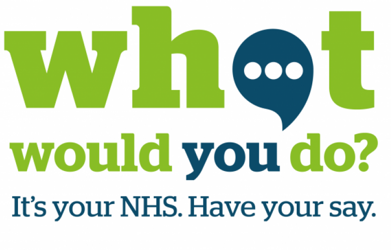 What Would You Do? It's your NHS. Have your say.