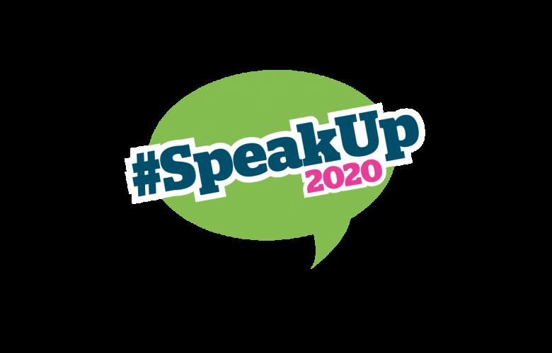 #SpeakUp2020 logo